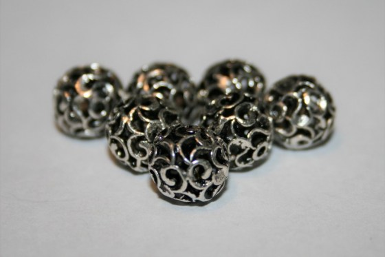Sterling Silber Perle, 10 mm