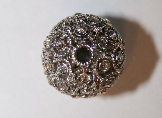 Strass Perle, 18 mm